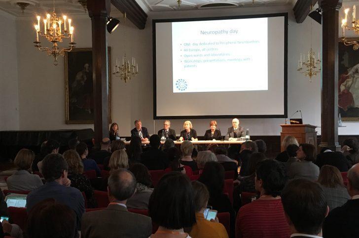 De eerste bijeenkomst EURO-NMD voor zeldzame spierziekten