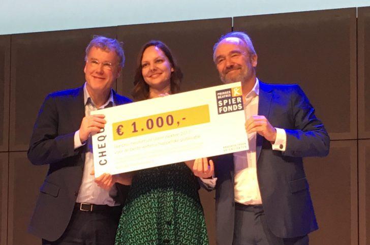 Nathalie Doorenweerd wint jaarprijs neuromusculaire ziekten