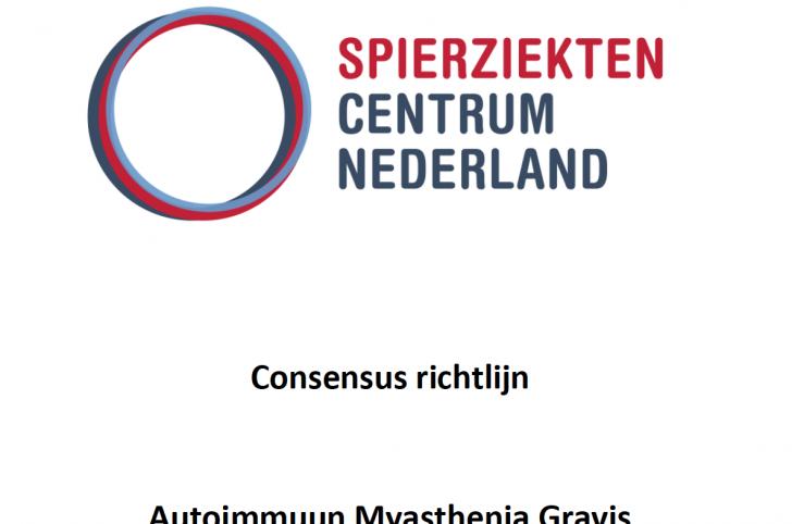 Nieuwe consensus richtlijn voor Myasthenia Gravis