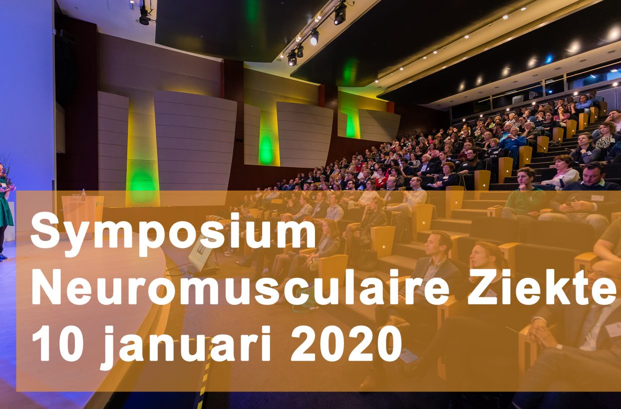 Symposium Neuromusculaire Ziekten 2020: Inschrijving geopend!