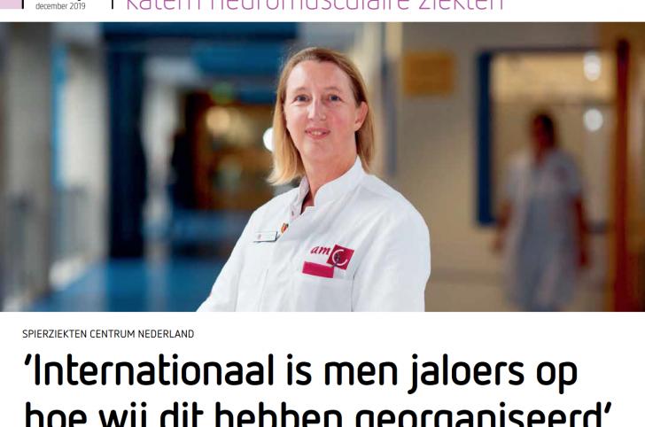 Tijdschrift De Neuroloog over Spierziekten Centrum Nederland