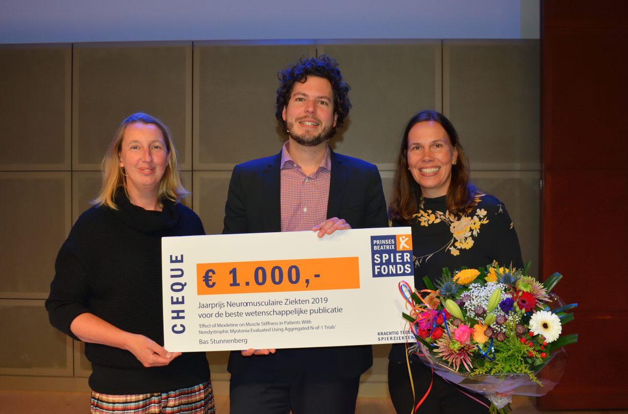 Jaarprijs Neuromusculaire Ziekten voor Bas Stunneberg