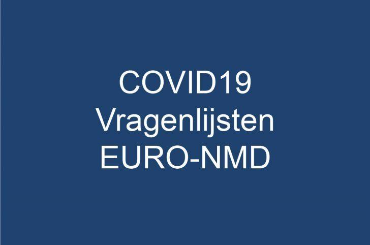 COVID19: Vragenlijsten van EURO-NMD