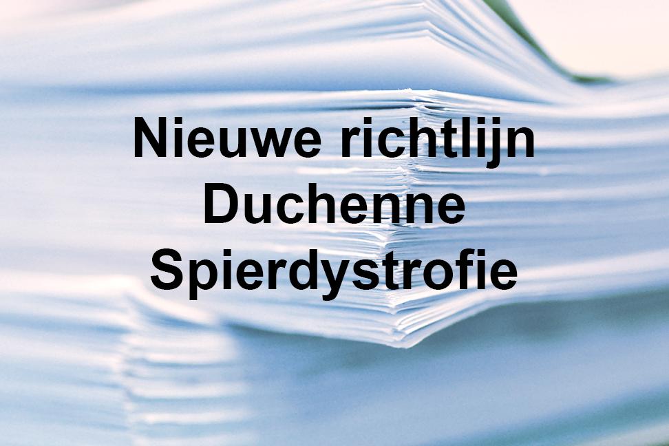 Nieuwe behandelrichtlijn Duchenne Spierdystrofie